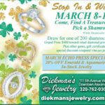 Diekman's Jewelry Shamrock Sale!